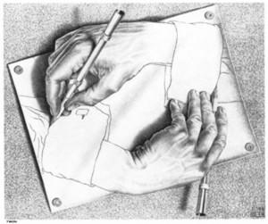 Escher_Dessiner